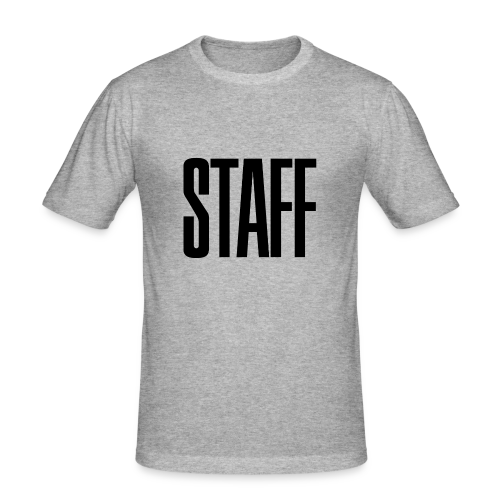 Staff. - Männer Slim Fit T-Shirt