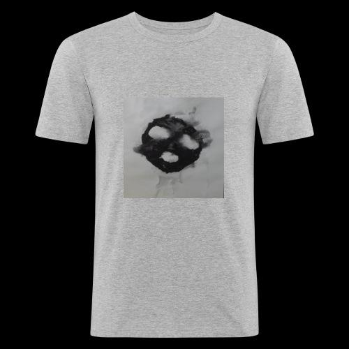 Scream - Miesten tyköistuva t-paita