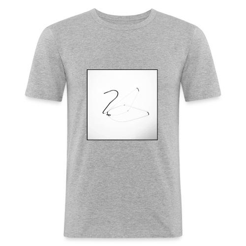 Schwan - Swan - Männer Slim Fit T-Shirt