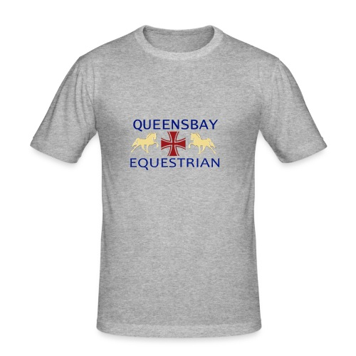 Queensbay Equestrian logo - slim fit T-shirt