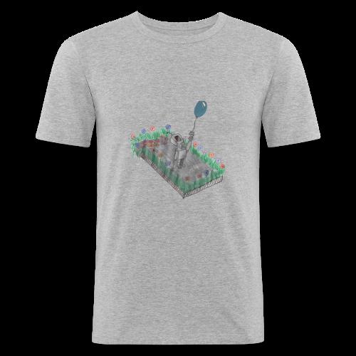 robotandflowers - Männer Slim Fit T-Shirt