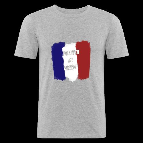 Pompier de France - Tee shirt près du corps Homme