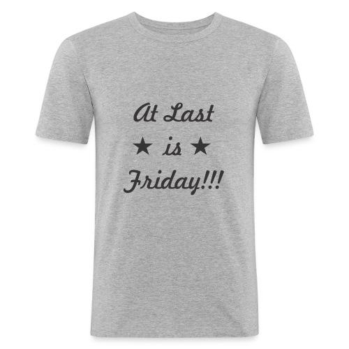 atlast - Camiseta ajustada hombre