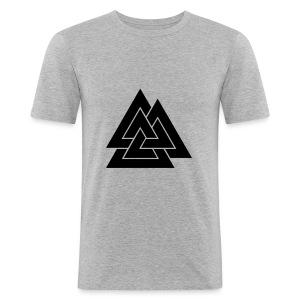 Valknut - Slim Fit T-shirt herr