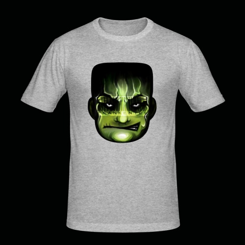 Frankenstein_logo - slim fit T-shirt