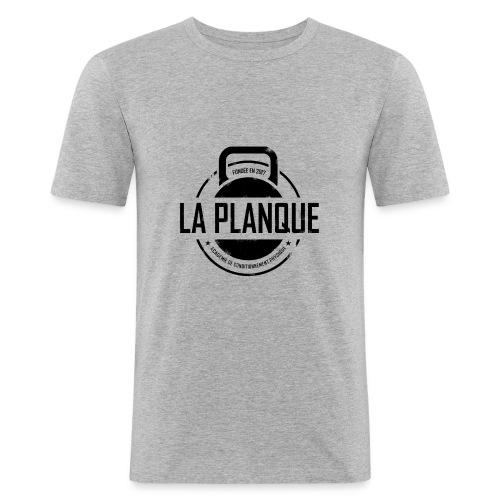 la_planque noir - T-shirt près du corps Homme