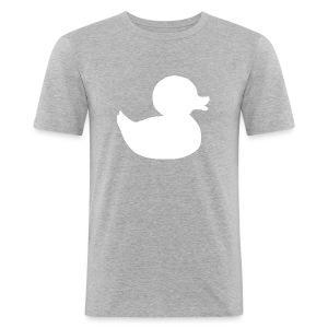 First duck tee - Men's Slim Fit T-Shirt