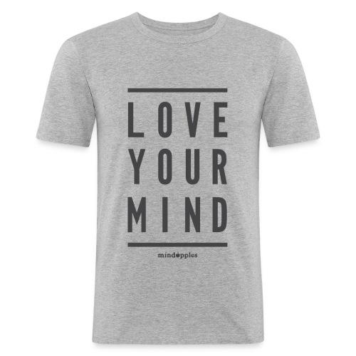 Mindapples Love your mind merchandise - Men's Slim Fit T-Shirt