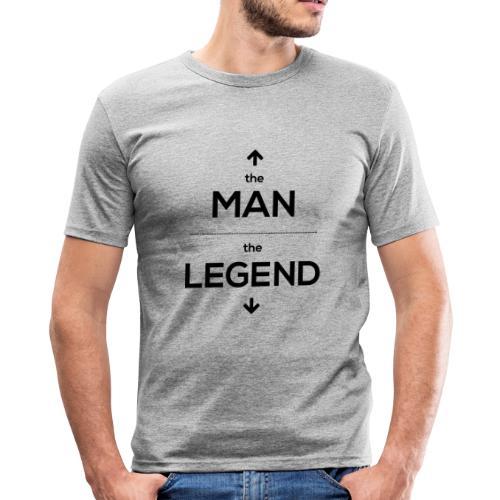 The man, the legend - Men's Slim Fit T-Shirt