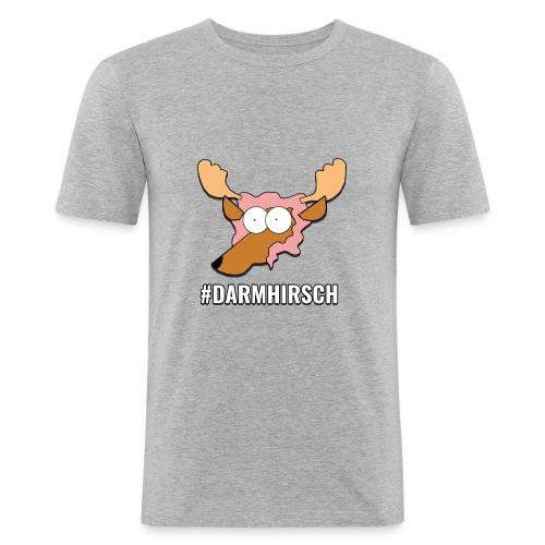 Darmhirsch - Männer Slim Fit T-Shirt