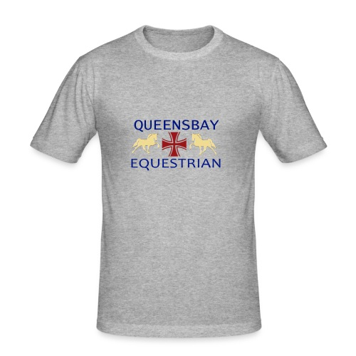 Queensbay Equestrian logo - slim fit T-shirt