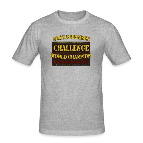 Loot Appraiser World Champion - Männer Slim Fit T-Shirt