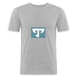 g3654-png - Obcisła koszulka męska