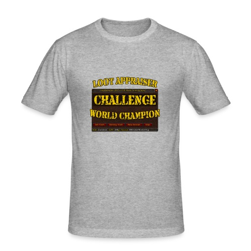 Loot Appraiser World Champion - Männer Slim Fit T-Shirt