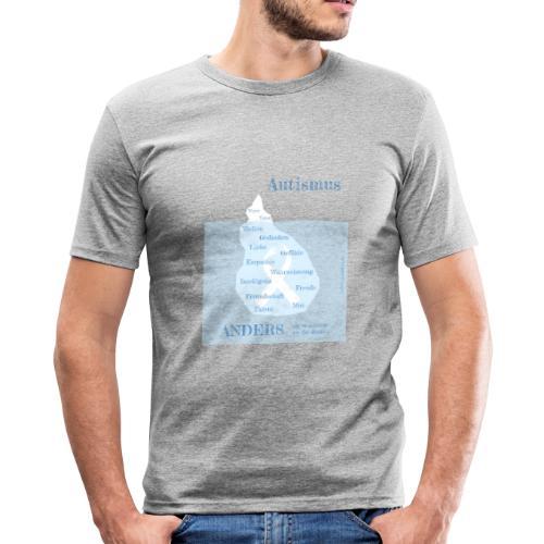 Autismus - anders als man denkt - Männer Slim Fit T-Shirt
