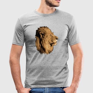 Lion - Tee shirt près du corps Homme