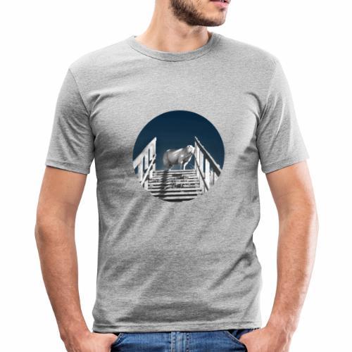 Schaf Lucy - Männer Slim Fit T-Shirt