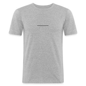 Line - Männer Slim Fit T-Shirt