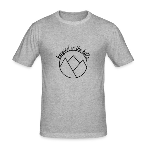 HITH LOGO - Men's Slim Fit T-Shirt