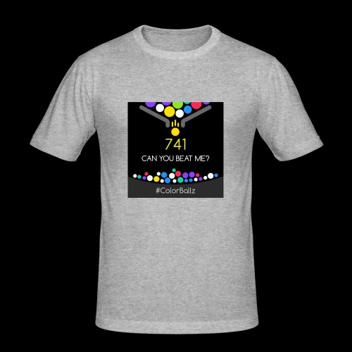 color ballz - T-shirt près du corps Homme