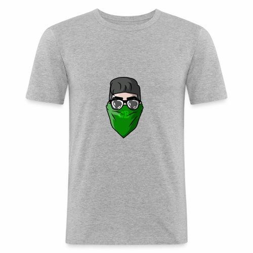 GBz bandana logo - Men's Slim Fit T-Shirt