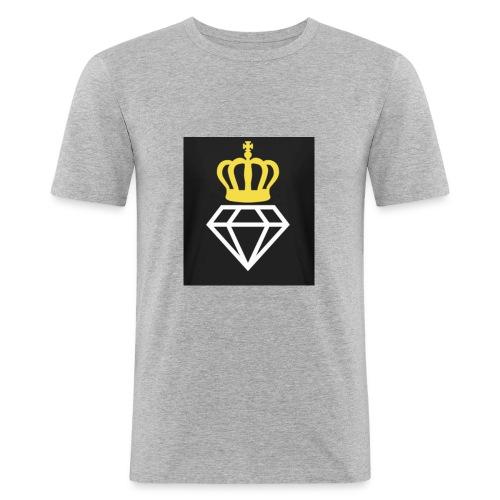 Diamantenkrone - Männer Slim Fit T-Shirt