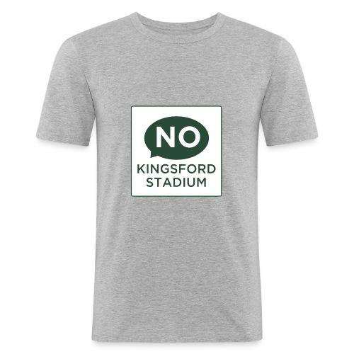 NKS Logo - Men's Slim Fit T-Shirt