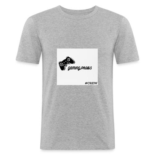 GAMING_ PROBS - Männer Slim Fit T-Shirt