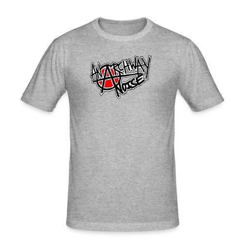 Anarchway Noise - Men's Slim Fit T-Shirt