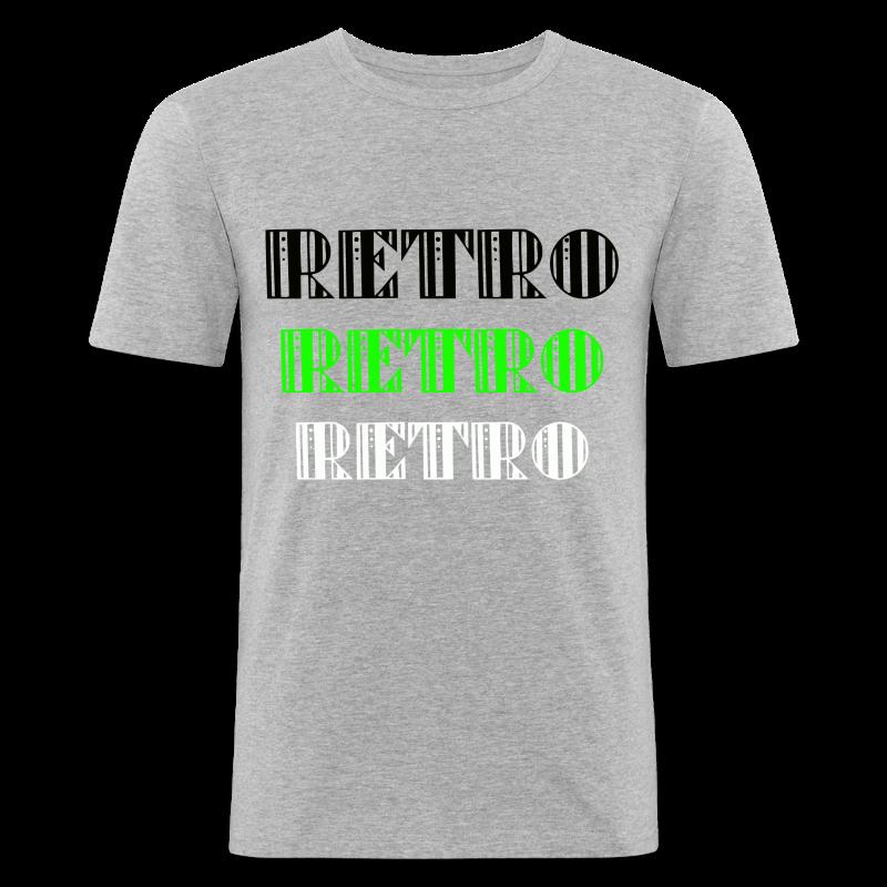 Retro Collections - Slim Fit T-skjorte for menn