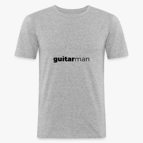 guitarman - Männer Slim Fit T-Shirt