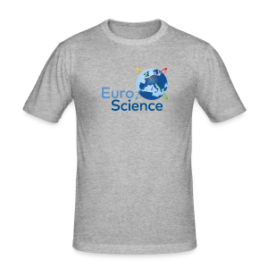 Euroscience logo - Men's Slim Fit T-Shirt