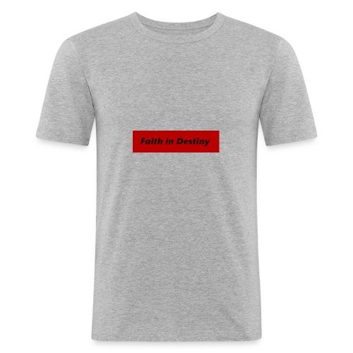 La fe en el destino - Camiseta ajustada hombre