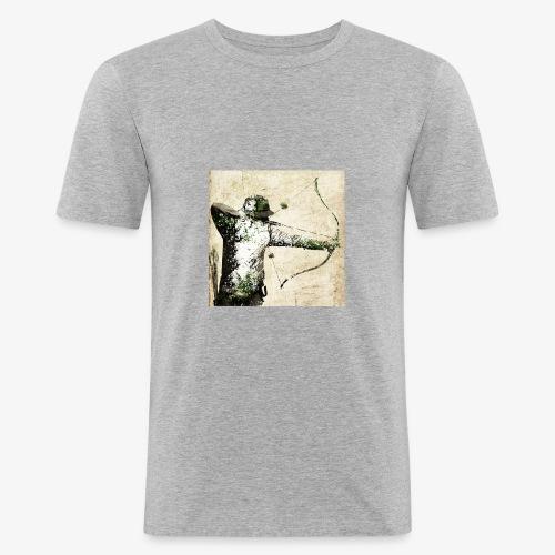 chasseur à l arc pop arc - T-shirt près du corps Homme