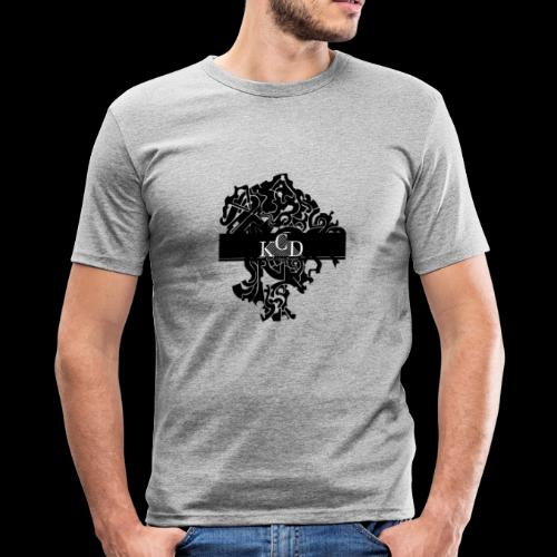 KCD Small Print - Men's Slim Fit T-Shirt