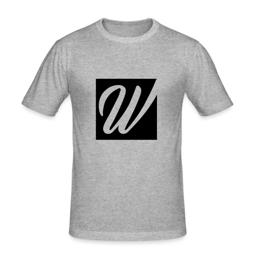 W only W!!!! - Männer Slim Fit T-Shirt