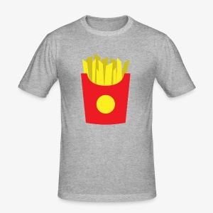 French fries - Tee shirt près du corps Homme