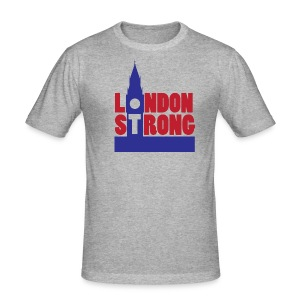 London Strong I - Men's Slim Fit T-Shirt