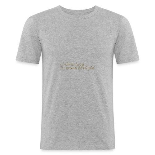 LLevoTuLuz - Camiseta ajustada hombre
