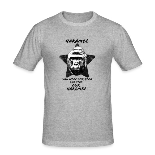 Harambe - Herre Slim Fit T-Shirt