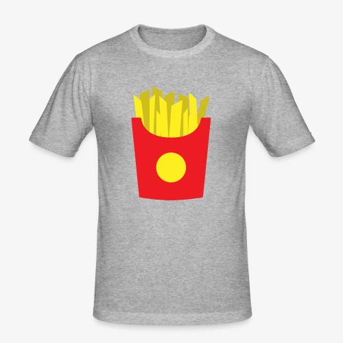 French fries - T-shirt près du corps Homme