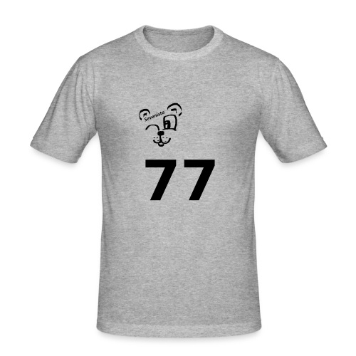 77 for the win - Männer Slim Fit T-Shirt