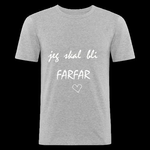 Farfar Collection - Slim Fit T-skjorte for menn