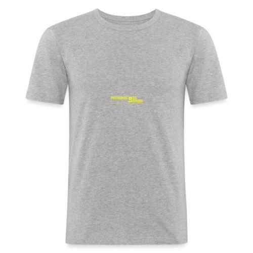 Fan Artikel (nur Text) vom Funkspiel BOS Bremen - Männer Slim Fit T-Shirt
