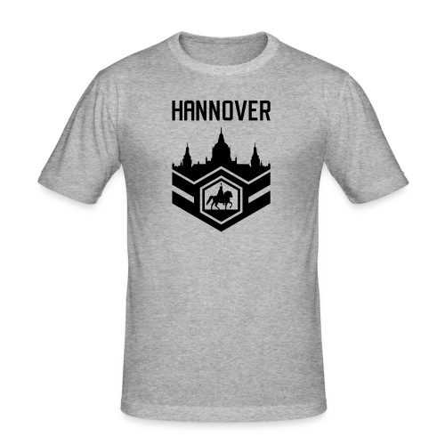 Mission Day Hannover randlos - Männer Slim Fit T-Shirt