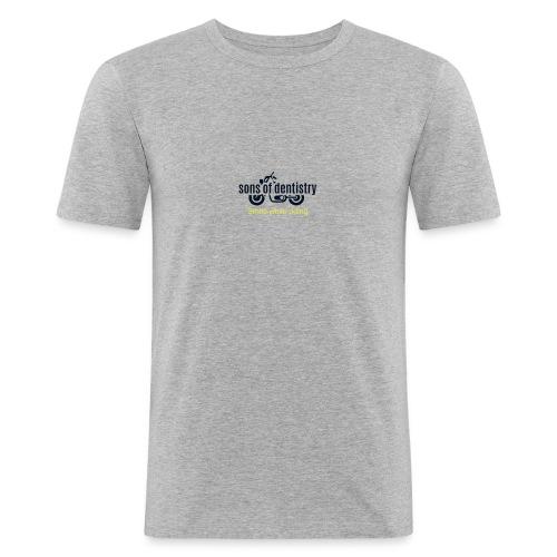 SOD logo schwarz - Männer Slim Fit T-Shirt