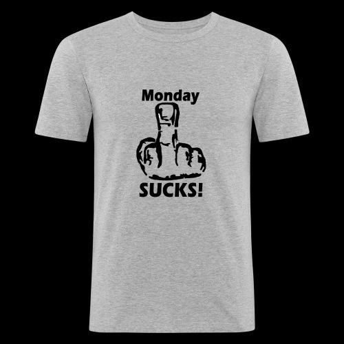 Mondaysucks - Männer Slim Fit T-Shirt