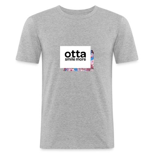 Otta English Floral - Men's Slim Fit T-Shirt