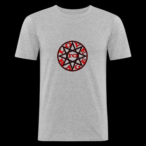 ESTRELLA love to rage - Camiseta ajustada hombre