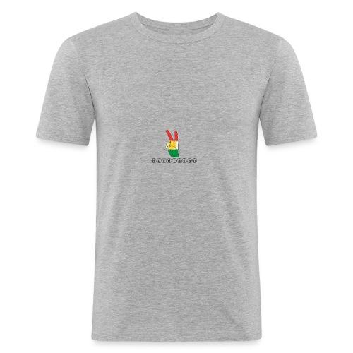 Kurdistan Peace - Männer Slim Fit T-Shirt